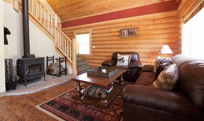 Photo for Private Donnelly House with Large Yard, Media Room, Close to Lake Cascade, Pet F