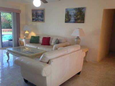 Photo for Spacious vacation rental with pool