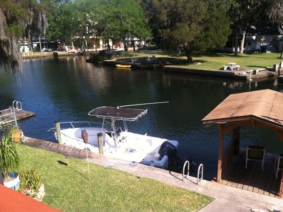 Photo for Come Stay On Weeki Wachee! Kayaks, Canoe Included!