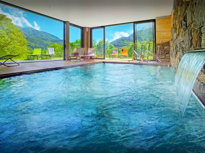 Photo for Indoor pool, gym and home cinema at this stunning chalet - OVO Network