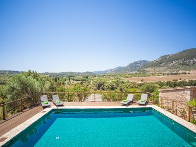 Photo for ES PONT - Villa with private pool in CAMPANET.