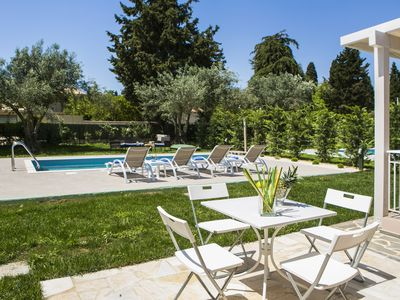 Photo for One bedroom Villa (sleeps 4) with private pool in Svoronata.