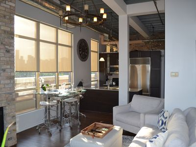 Photo for Spectacular Downtown Loft With City Skyline View