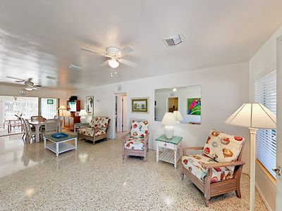 Photo for Charming Retreat w/ Guest Suite, Sunroom & Fenced Yard - Near Nokomis Beach