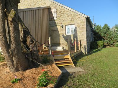 Photo for 1BR Cottage Vacation Rental in Saint-Alban, Bretagne