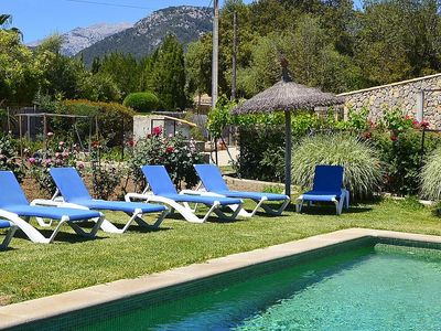 Photo for Rural finca Valerria in Majorca for 8 persons with private pool in Campanet near Alcudia.