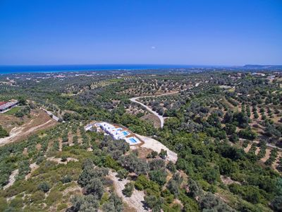 Photo for New, Spacious, Private Pool, Near tavern, Olive Grove, Great location & Views 4