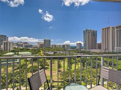 Photo for Park-Front Waikiki Studio - Near Beach w/ Views!