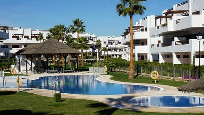Photo for Casa Alexandra Penthouse 4 people by the sea in Mar de Pulpi