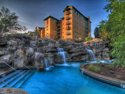 Photo for RIVERSTONE RESORT-2bd/2bth Luxury Condo w/Lazy River/Indoor Pool/#1 Spa Resort!!