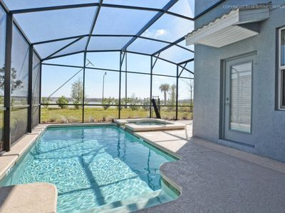 Photo for GATED RESORT COMMUNITY,GAMEROOM, JACUZZI, FREE WIFI, KIDS THEMED ROOMS, BBQ!!