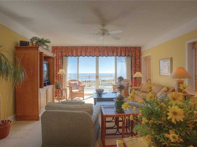 Photo for Luxury Getaway at this Oceanfront Condominium! Ocean Views, Beach Access and Pool