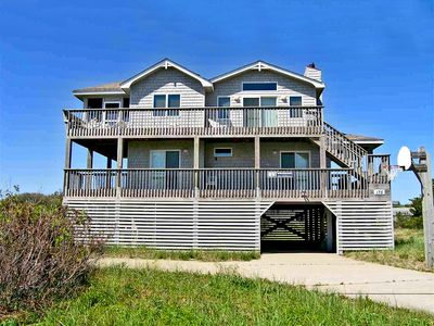 Photo for Enjoy Ocean views, across from Beach / private in-ground pool at Sandy Shores