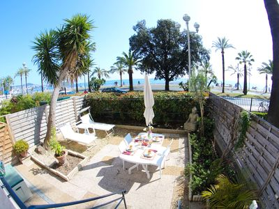 Photo for Awesome Apartament in Promenade - Nice sea view and private garden