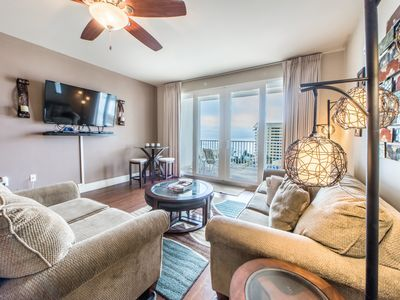Photo for ☼Laketown Wharf 710-2BR+Bunks☼5 Pools! Gulf Views- Aug 4 to 6 $667 Total!