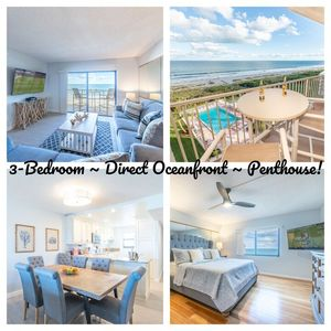 Photo for New Listing & Condo! ~ Direct Ocean Front ~ Penthouse! [Limited Time Intro Pricing Is On!]