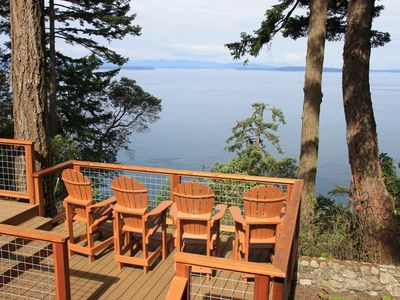 Photo for Westside Waterfront Vacation Home ORCAS & EAGLES