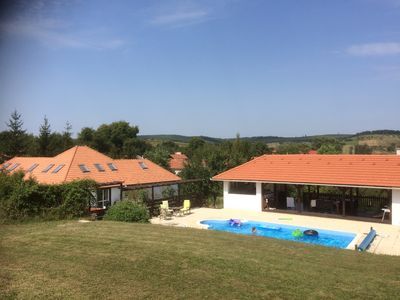 "Photo for Holiday Villa in the ""Tuscany of Hungary"" for groups up to 12 people"