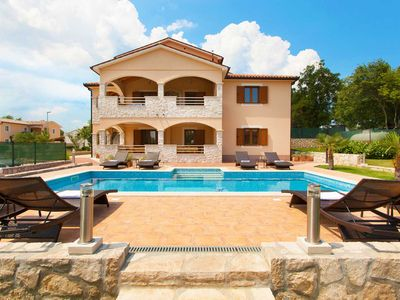 Photo for Beautiful modern villa in a small village near the sea