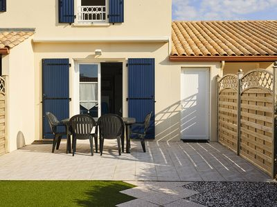 Photo for In the heart of a seaside village, with access to the swimming pool