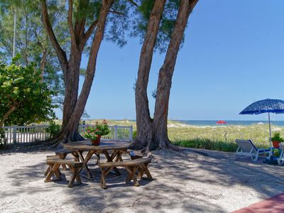 Photo for Beachfront Cottages (Patio) at Beautiful Sandy Shores on Gulf of Mexico