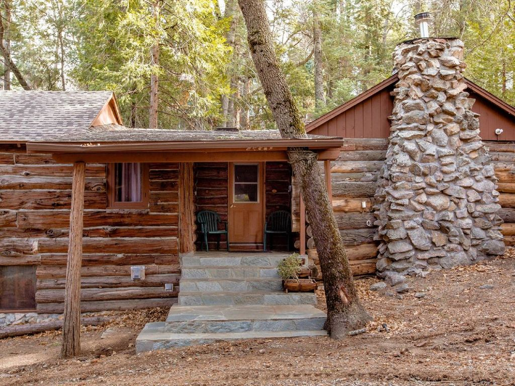 Retreat in restored 1920s logwood cabins palomar mountain for San diego county cabin rentals
