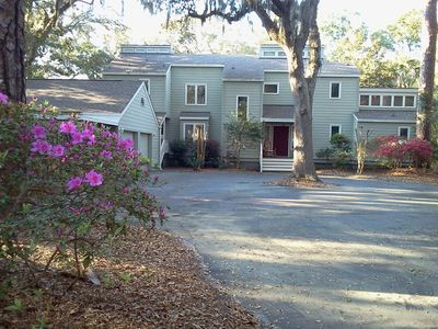 Photo for 5 BR home 3 houses to beach! Discounts for summer avail. Ask about pool options