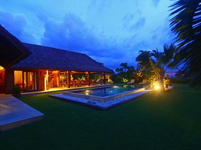 Photo for VILLA 150M FROM THE BEACH LOCATED IN CANGGU: PRIVATE SWIMMING POOL, WIFI, TV