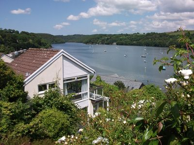 Photo for Cottage With Breathtaking Views Of The Fowey Estuary