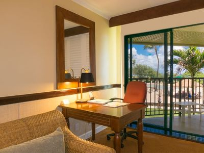 Photo for Kauai Beach Resort 4208: Beach side resort with many amenities and low rates!