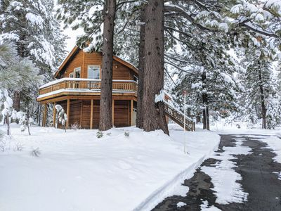 Photo for Charming Truckee Cabin in the Heart of Mountain Adventure