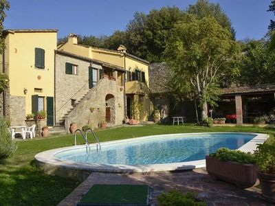 Photo for Holiday apartment Cortona for 4 - 5 persons with 2 bedrooms - Stately Manor/Villa