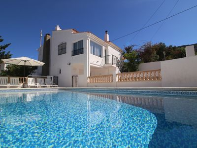 Photo for Modern villa Tatiana with pool, wifi and barbecue. 600 meters from Puerto Blanco beach.