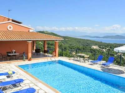Photo for Villa Zeus - Within walking distance of the beach, amazing sea views & has WI-FI