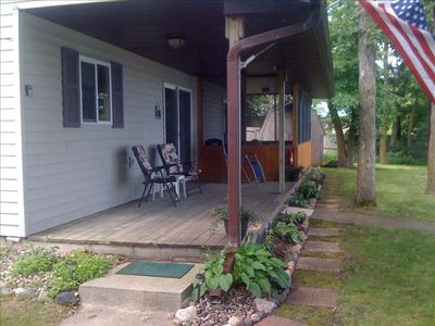 Covered & Uncovered Patios - Great Lake Views and Lawn Space!