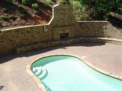 Photo for Mediterranean Retreat on Lanier with Private Pool.Dock