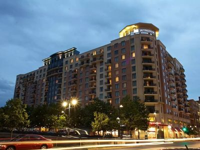 Photo for Reduced ! Celebrate Fourth of July Near DC, 2BR Presidential Balcony Condo