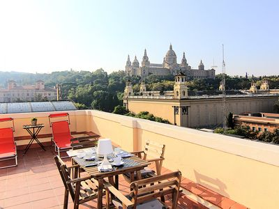 Photo for PENTHOUSE TOP VIEWS BARCELONA APARTMENT