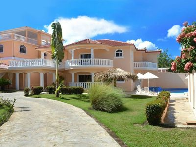 Photo for Beautiful 6 bedroom between Puerto Plata airport and downtown sosua with all amenities you need to have an unforgettable vacation.
