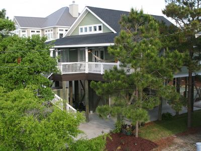 Photo for Handicapped Accessible Pet Friendly Beach Home - Ocean Across Street w Elevator!