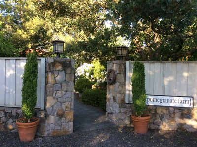 Photo for Charming Two or Three Bedroom Wine Country Cottage (s)  - 1.5 m to Sonoma Plaza