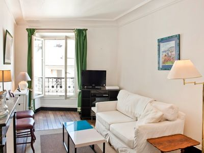 Boasting a fantastic location in Paris's most fashionable Saint Germain district, this one bedroom a