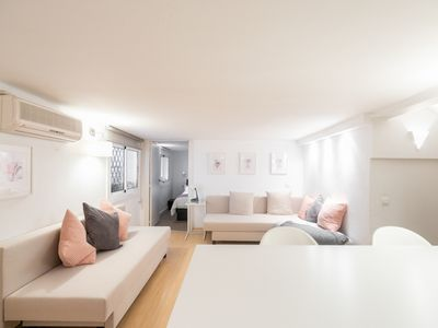 Photo for COMFORTABLE APARTMENT IDEAL FOR COUPLES IN THE EXCLUSIVE NEIGHBORHOOD OF SANT GERVASI PAR
