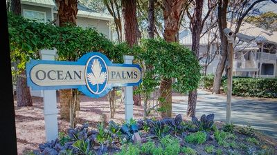 Photo for OCEAN PALMS UNIT 122 FREE GOLF FOR FOUR AND TENNIS EVERYDAY POOL FRONT