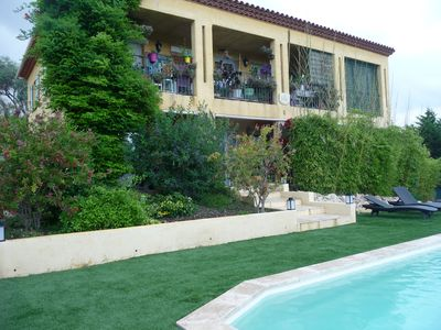 Photo for HOUSE QUIET IN CAGNES SUR MER