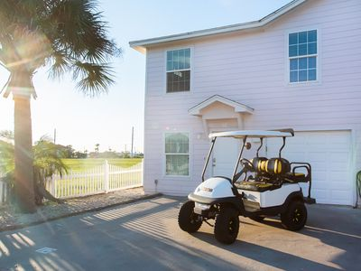Photo for Fancy Flamingo: Free Golf Cart, Pet Friendly, Shared Heated Pool