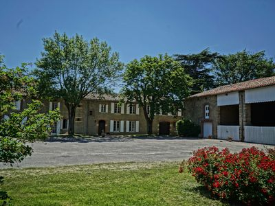 Photo for Typical Lauragais House, with a Large Heated Pool And a Centuries-Old Park