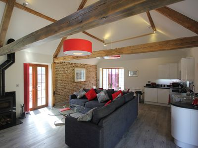 Photo for The Barn At Flintstone Cottages Near Chichester Goodwood Sleeps 4/6