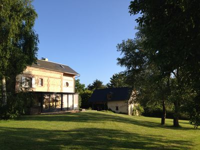 Photo for House with exceptional views of the sea and DEAUVILLE