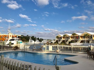 Photo for Charter Landing II- C3 Waterfront Condo in Orange Beach! Boaters paradise!